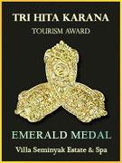 Tri Hita Karana Tourism Award - Gold Medal
